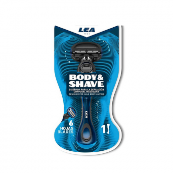 LEA Body & Shave Skraber (Inkl 1. Barberblad) (made4men)