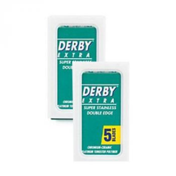 Derby Extra Double Edge Barberblade (2x5 stk.)