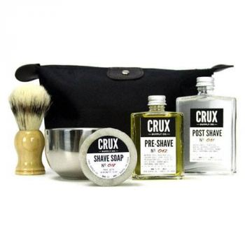 Crux Supply Co. Deluxe Shaving Kit