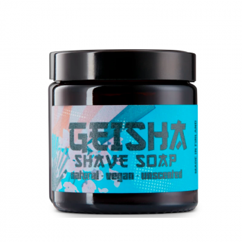 Geisha Shave Soap Unscented (80 g) (made4men)