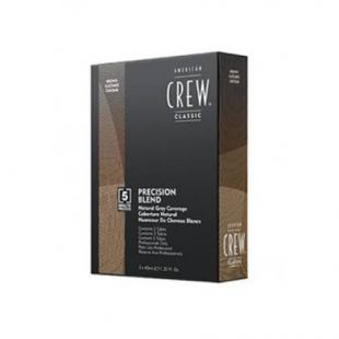 American Crew Precision Blend Hair Color Medium Ash 5-6 (3 x 40 ml)