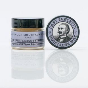 Captain Fawcett Moustache Wax - Skägg Vax (Lavendel, 15 ml)