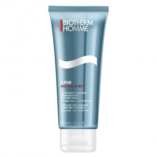 Biotherm Homme T-Pur Anti Oil and Wet Purifying Cleanser (125 ml)