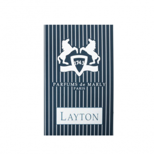 Parfums De Marly Layton EDP Duftprøve (1.2 ml) (made4men)