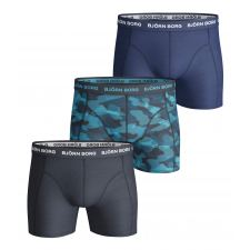 Björn Borg 3-Pack Boxershorts (Total Eclipse)