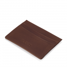 Njord Card Holder Slim (Læder - Cognac)