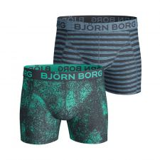 Björn Borg 2-Pack Boxershorts (Total Eclipse)