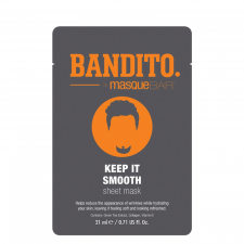 MB Bandito Keep It Smooth Sheet Mask (1 stk) (made4men)