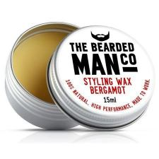 The Bearded Man Bergamot Beard Wax (15 ml)