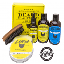 Golden Beards Starter Beard Kit Big Sur