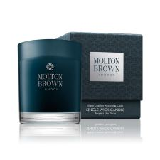 Molton Brown Black Leather Accord & Cade - Enkelt Väge Lys (180 g)