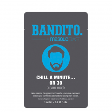 MasqueBar Bandito Chill A Minute Or 30 Cream Mask (1 st)