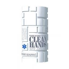 Clean Hands - Wash Without Water (Hvid)