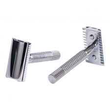 Giesen & Forsthoff Double Edge Safety Razor (Chrome, 80 mm)