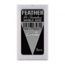 Feather Double Edge Blades Black
