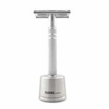 Feather Luxury Safety Razor (med Stand)