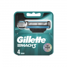 Gillette Mach3 Barberblade (4 stk) (made4men)