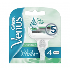 Gillette Venus Extra Smooth Sensitive Barberblade (4 Stk) (made4men)