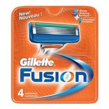 Gillette Fusion Rakblad (4-pack)