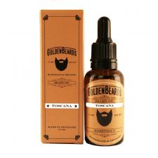Golden Beards Økologisk Skægolie - Toscana (30 ml)