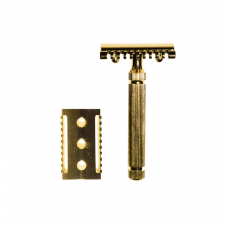 Golden Beards Safety Razor Gold (made4men)
