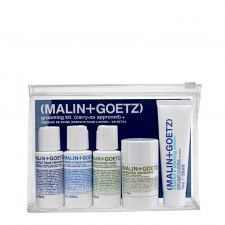 Malin+Goetz Grooming kit