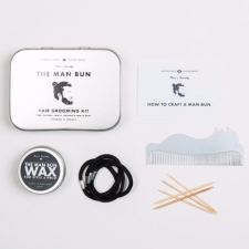 Men's Society Hair Kit - Man Bun top