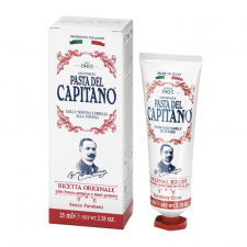 Pasta del Capitano 1905 Original Recipe Travel Size Toothpaste (25 ml) (made4men)