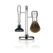 Gentlemens Tonic Mayfair Shaving Set (Chrome)