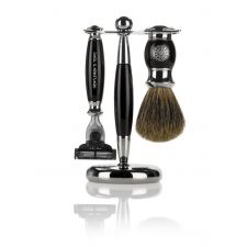 Gentlemens Tonic Mayfair Shaving kit (Ebony)