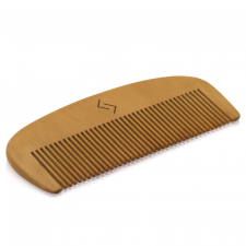 Njord Beard Comb (Pear Tree)