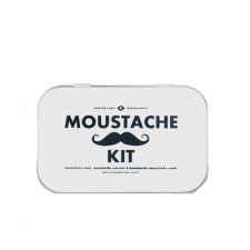 Moustache Grooming Kit Top