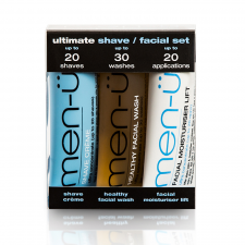 Men-Ü Ultimate Shave/Facial Set (3 x 15 ml)