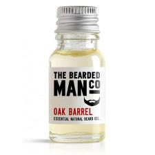 The Bearded Man Oak Barrel Beard Oil (10 ml)
