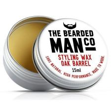 The Bearded Man Oak Barrel Moustache Wax (15 ml)