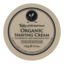 Taylor of Old Bond Street Barbercreme Organisk (150 g)
