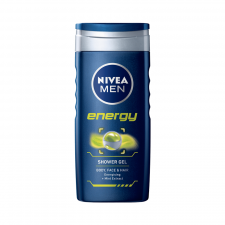 Nivea Energy for Men 3-in-1 Shower Gel (500 ml) (made4men)