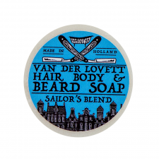 Van Der Lovett Hair, Body & Beard Shampoo Soap Bar Sailors Blend (60 g) (made4men)