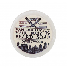 Van Der Lovett Hair, Body & Beard Shampoo Soap Bar Sweetwood (60 g)
