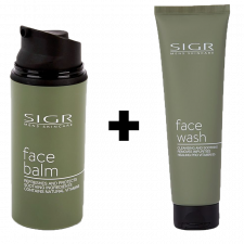 SIGR Face Balm (80 ml) + SIGR Facewash (150 ml)