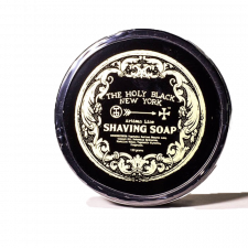The Holy Black Shaving Soap Artisan Line, Gunpowder & Spice