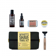 Mr Natty Travel Shave Wash Kit (made4men)